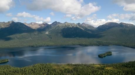 A general view shows a nature reserve in the Siberian Federal District. © Sputnik / Alexei Druzhinin