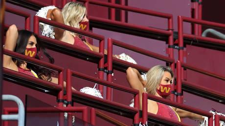 Washington Football Team cheerleaders © Geoff Burke / USA Today Sports via Reuters