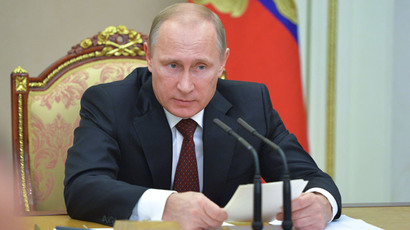 President Vladimir Putin (RIA Novosti / Alexei Druzhinin)