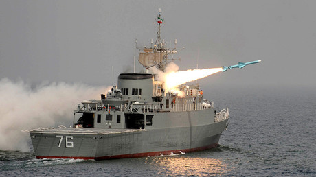 Destroyer iranien, photo ©IIPA Ebrahin Noroozi / IIPA / AFP