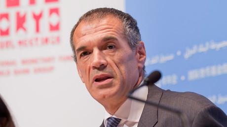 Image d'illustration : Carlo Cottarelli au forum du FMI de Tokyo en 2012