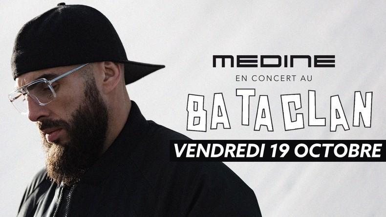 Médine au Bataclan : les concerts du rappeur reportés «dans une autre salle parisienne»