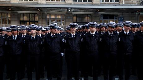 Cérémonie à la préfecture de police de Paris le 20 décembre 2018 (image d'illustration).