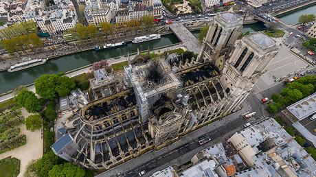 Notre-Dame : découvrez les dégâts causés par l'incendie via l'image aérienne à 360 degrés