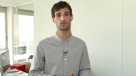 Mathias Destal sur RT France.