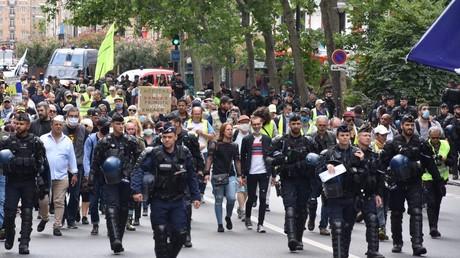Gilets jaunes, BLM, sans-papiers, Tchétchènes : nouvelle journée de mobilisations en France