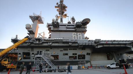 Deux porte-avions américains en exercices en mer de Chine méridionale