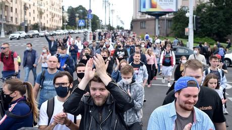 Manifestations en Biélorussie après le rejet de la candidature d'un opposant accusé de fraude