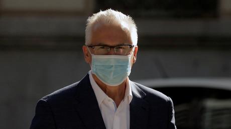 L'avocat d'Assange évoque un «filmd'espionnage» au sortir de son audition par un juge en Espagne
