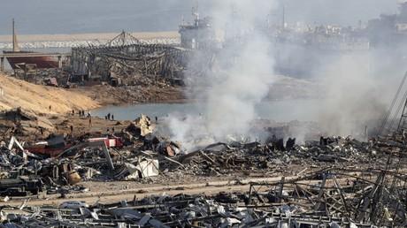 Beyrouth : les images du port ravagé par les deux explosions