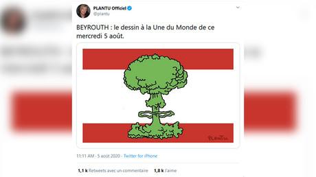 Catastrophe de Beyrouth : le dessin de Plantu dans Le Monde critiqué sur Twitter