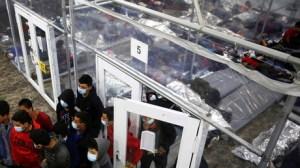 Etats-Unis: malgré le Covid, 4 000 migrants s'entassent dans un centre de rétention