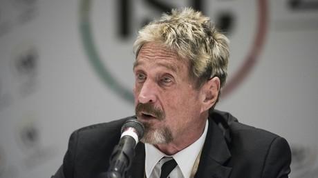 McAfee : une autopsie confirme la thèse du suicide, la famille demande une enquête indépendante