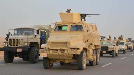 وحدات من القوات المصرية مشاركة في عملية سيناء 2018