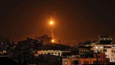 سبعة إصابات العلو قصف إسرائيلي جنوب قطاع غزة 13