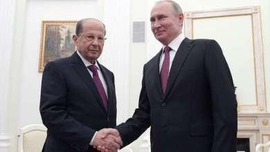بوتين وعون: لا بديل لحل أزمة سوريا سياسيا وندعم جهود حكومتها لمحاربة الإرهاب 21