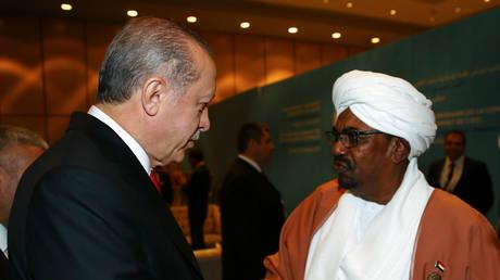 How did Saudi Arabia overtake Turkey in Sudan?