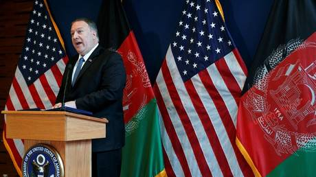 Pompeo hopes to reach a peace deal with the Taliban before September