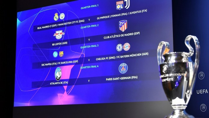 An early clash between the European giants in the Champions League