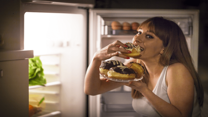 Here's what happens in your body when you only binge eating once!