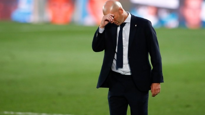 Zidane reveals his future with Real Madrid after losing to