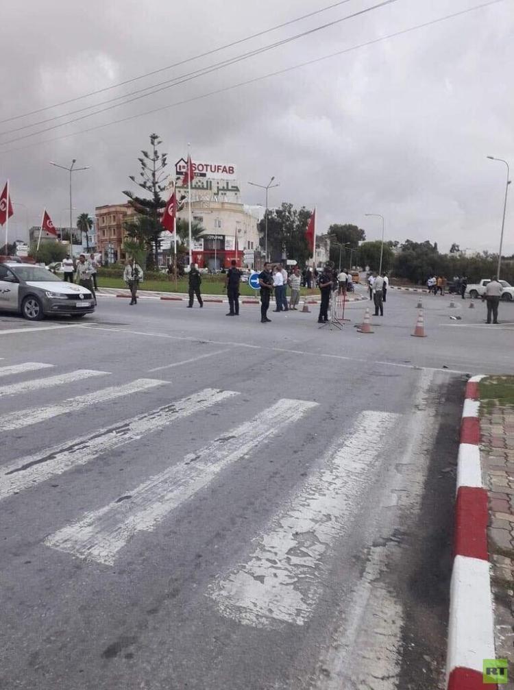 الأمن التونسي يقضي على 3 إرهابيين طعنوا شرطيين في سوسة