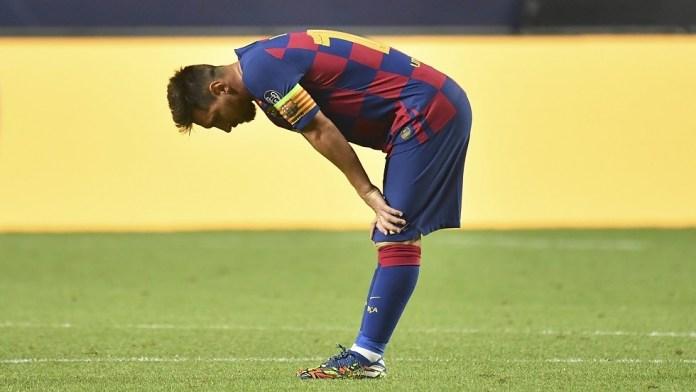 ميسي يترك برشلونة بمفرده لفترة طويلة