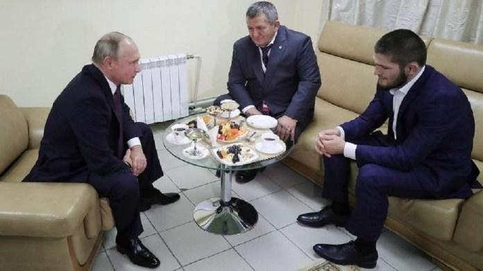 Putin congratulates Habib for maintaining his world title