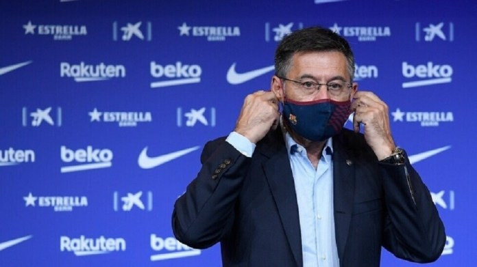 After an emergency meeting ... Barcelona club president announces his position on resignation