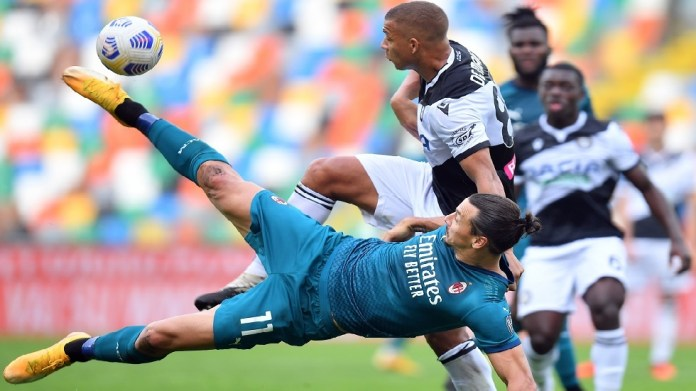Watch .. Ibrahimovic scores a goal