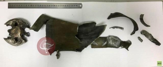 سقوط صاروخ في فناء السفارة الإيرانية في كابل (صورة)