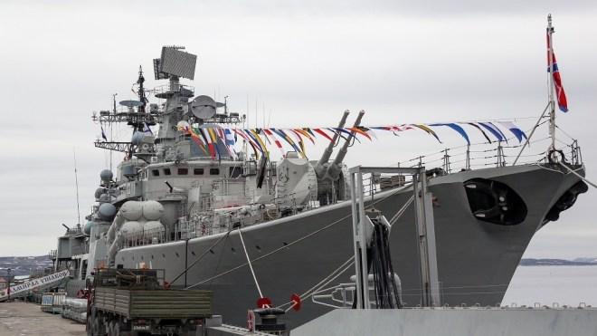 روسيا تعدل إحدى أهم سفنها القتالية وتطيل عمر خدمتها في الأسطول #RT_Arabic