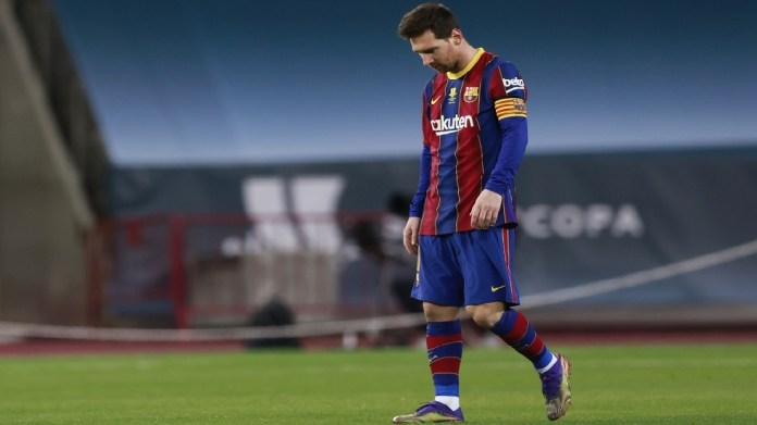 The first thing Messi did in the dressing room after his expulsion from the Bilbao match