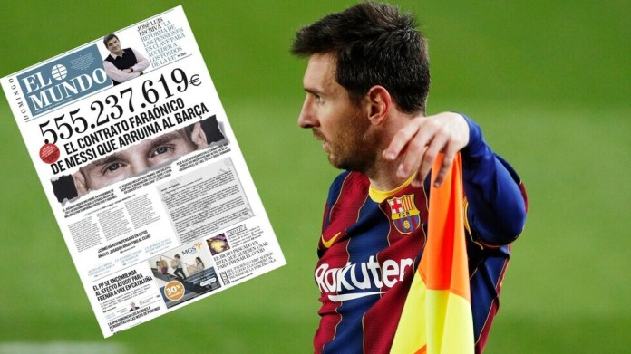The director of relations in Barcelona reveals his position on Messi's contract crisis