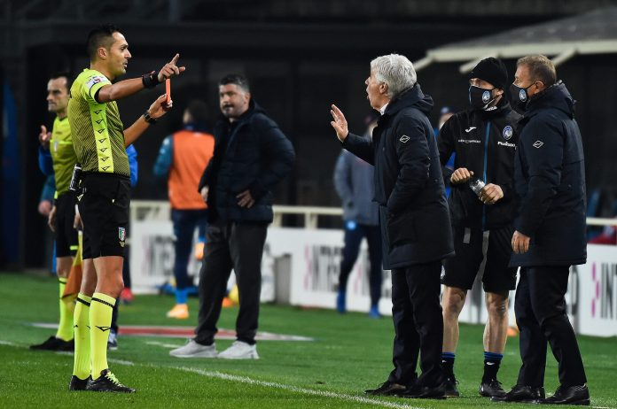 Gasperini criticizes the referee after the defeat by Real Madrid (video)
