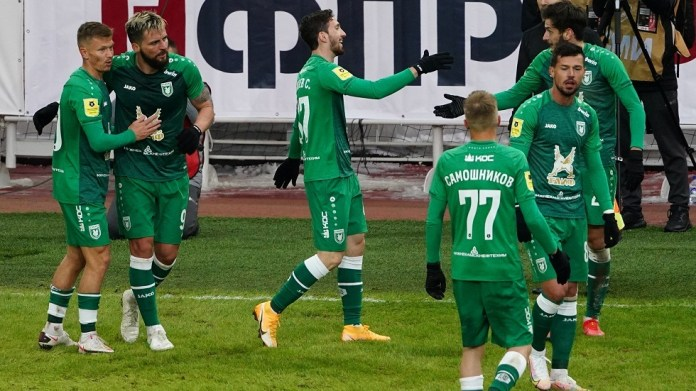 Rubin Kazan defeats Spartak Moscow with a double at home (video)