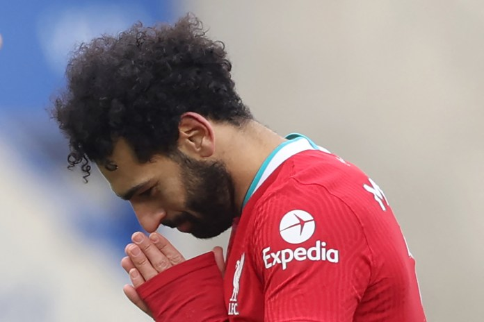 Mohamed Salah embarrasses the Football Association (picture)