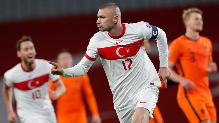 Turkey stuns the Netherlands by four at the start of the European qualifiers for the Qatar 2022 World Cup (video)