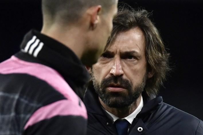 Juventus coach Pirlo defends his mistakes