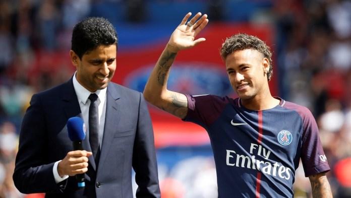 Neymar's agent: Al-Khulaifi said