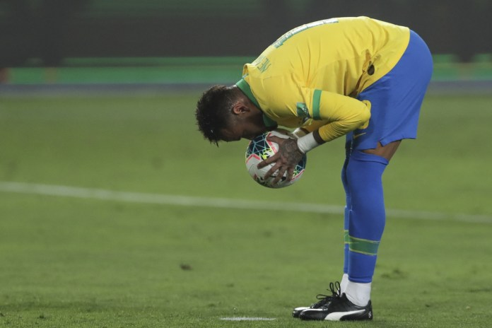 Brazil coach hopes to free Neymar to participate with the Olympic team