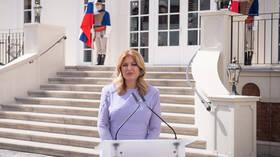 رئيسة سلوفاكيا تدرس رفع السرية عن اتفاق شراء لقاح