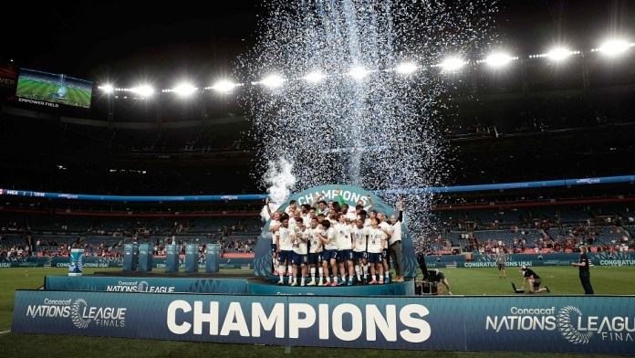 The United States is the champion of the first edition of the Nations League