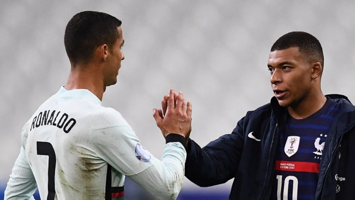 Mbappe comments on comparing him to Ronaldo and trying to persuade him to move to Bayern Munich
