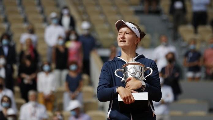 Czech Krichkova makes history