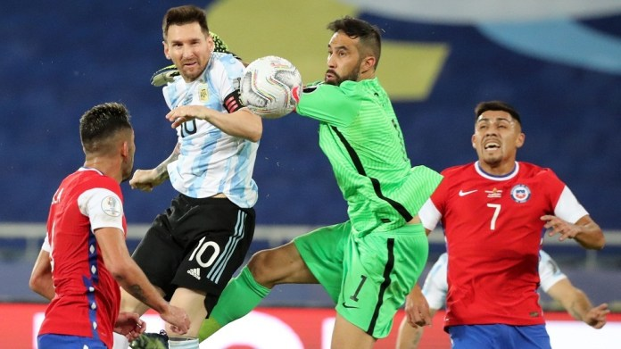 Chile imposes a draw against Argentina in the Copa America (video)