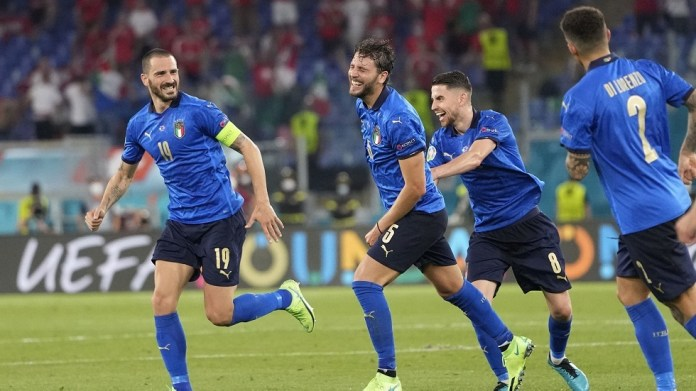 Italy is the first to qualify for the Round of 16 of the European Nations Cup (video)