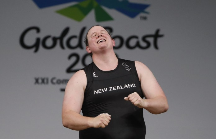 For the first time in history, a man turned into a woman participates in the Olympics (video)