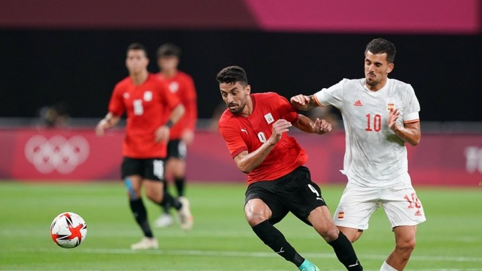 Egyptian Taher Mohamed Taher causes a severe injury to Spaniard Ceballos at the Tokyo Olympics (video)