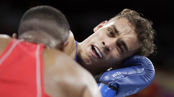 Tyson style.. Moroccan boxer